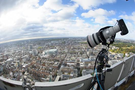 BT Tower 360 Panorama of London